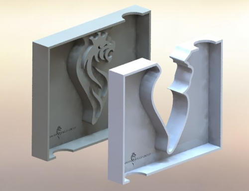 STG 3D Design Ashtray