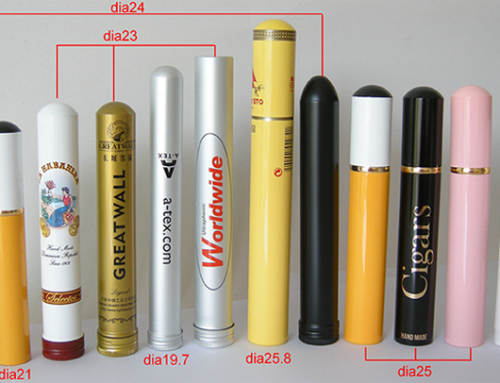 Sigar Tubes in different styles