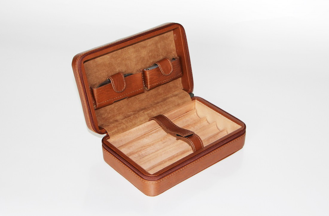 Leather Humidor TommyBahama