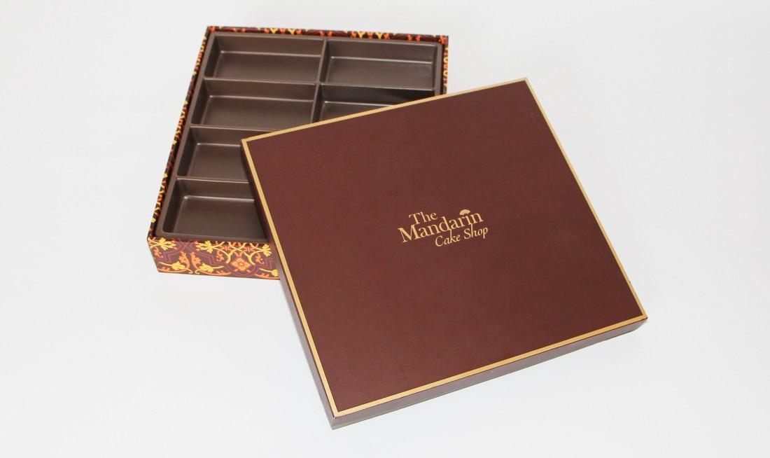 Mandarin Paper Cake Box