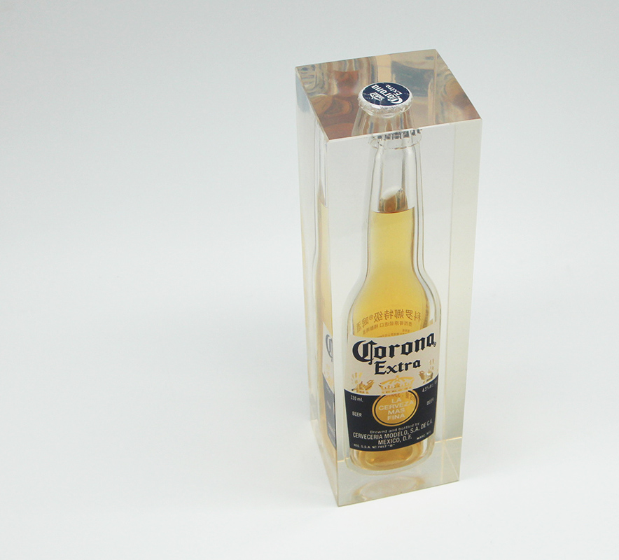 Presspapier Corona Bottle