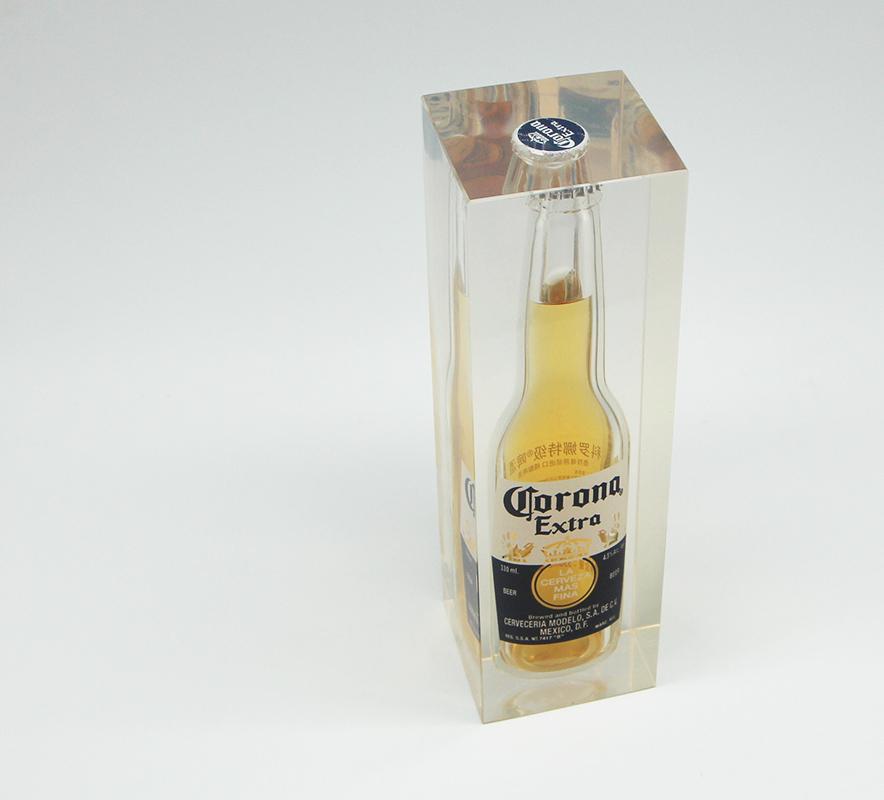 Presspapier Corona Bottle