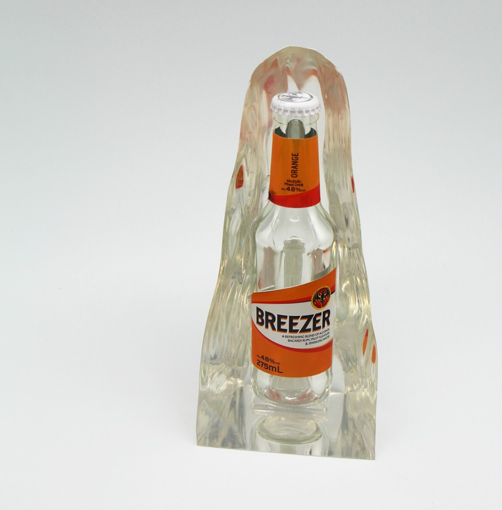 Presspapier Bacardi Breezer Bottle