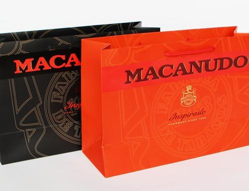 Macanudo Paper Bags