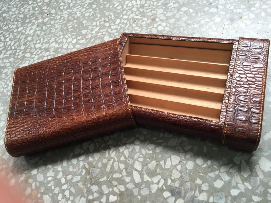 Leather Humidor