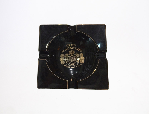 Club Macanudo Montego Y Cia Cigars Ceramic Ashtray