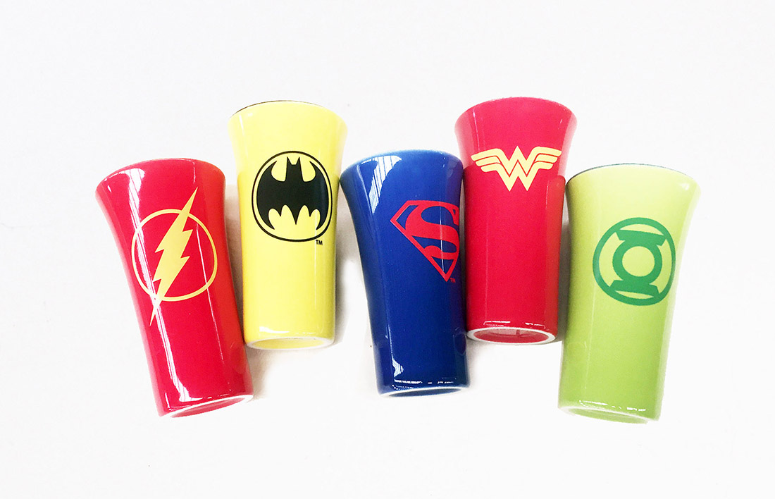 Marvel Heroes Superman Badman Ceramic Cup Mugs