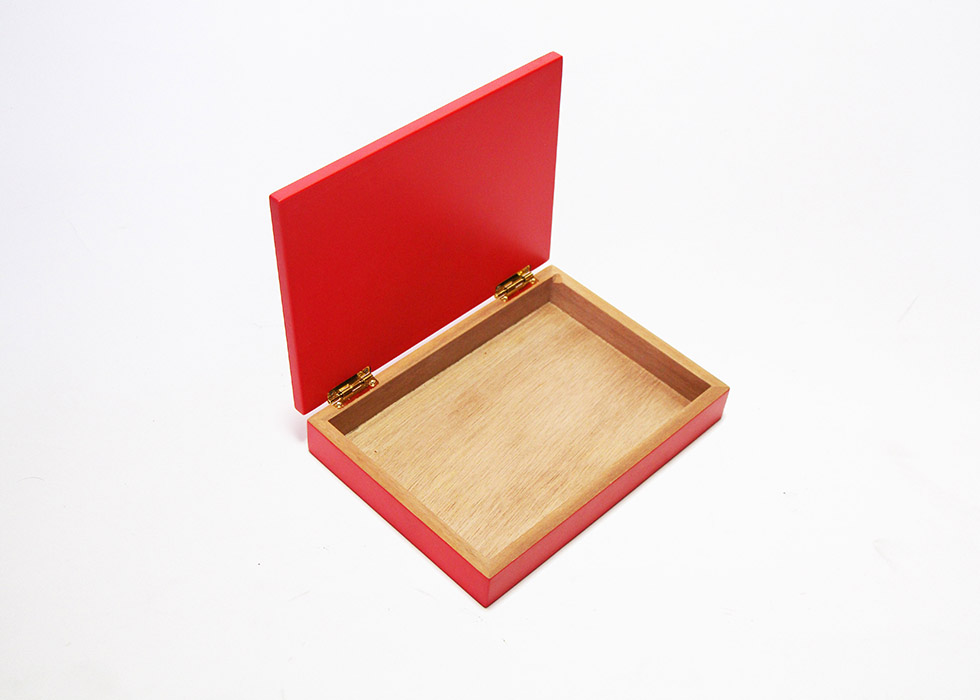 Wooden Travel Art Cigar Humidor